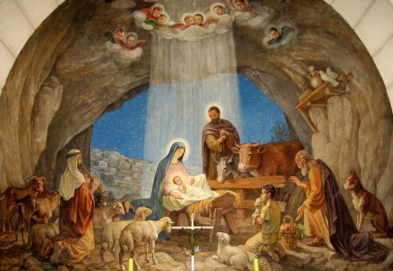 Znalezione obrazy dla zapytania betlejem boze narodzenie